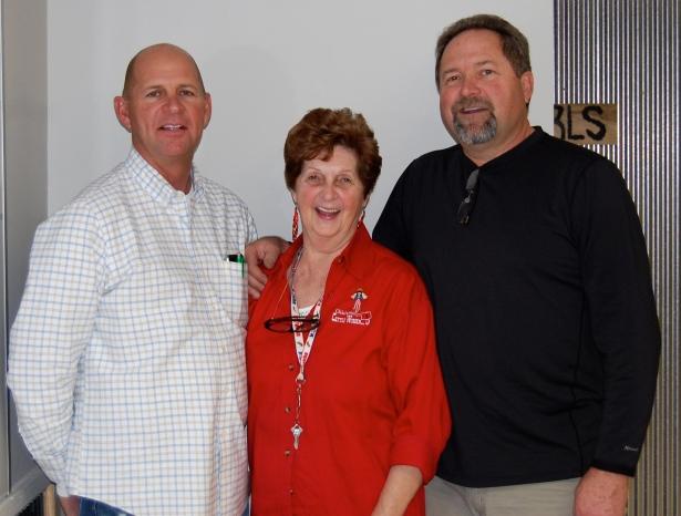 Dad, Grandma, and Joe.