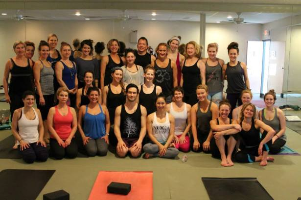 The yoga group.  I can't wait to spend 150 more hours with these incredible people.
