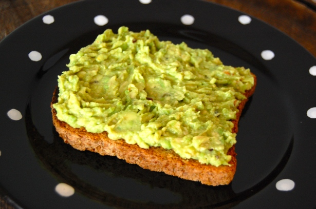 Avocado toast is one of favorite meals/snacks.