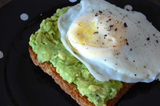 Avocado toast is even better with an egg on top!
