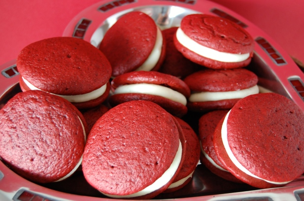 Tray o' whoopie pies.
