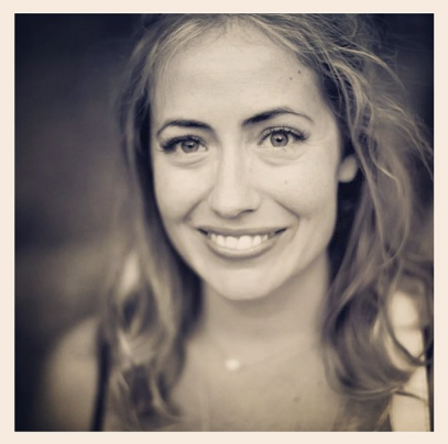 Kathryn Budig.  Photo from yoga journal.com