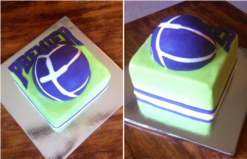 Volleyball Party Cake