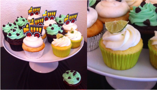 Cupcakes by your truly.