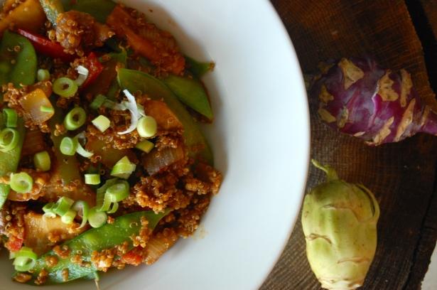 Veggie & Quinoa Teriyaki Bowls