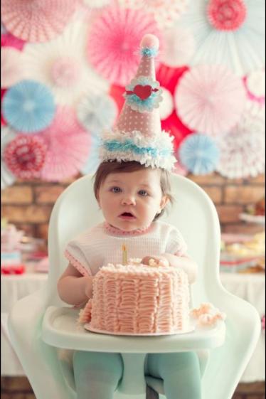 Baby's 1st Birthday Cake.