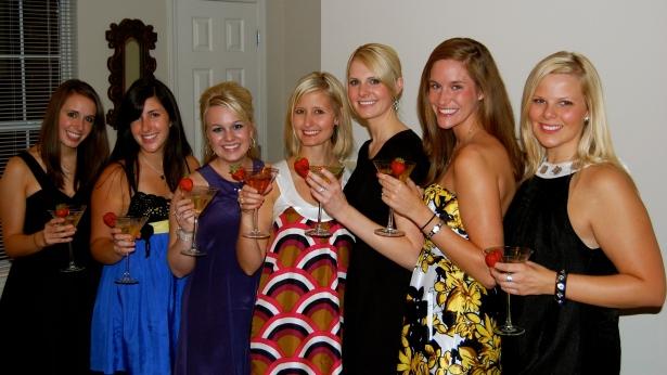 JJ, Erin, Krissy, Hub, Me, Meghan and Whitney.