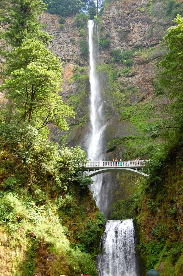 Multanomah Falls - tallest fall in Oregon!