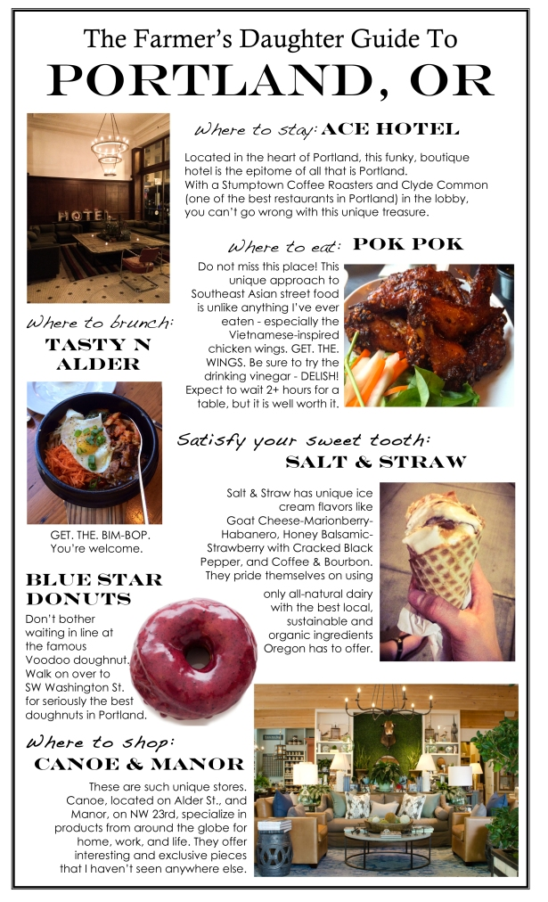 Guide to Portland, OR