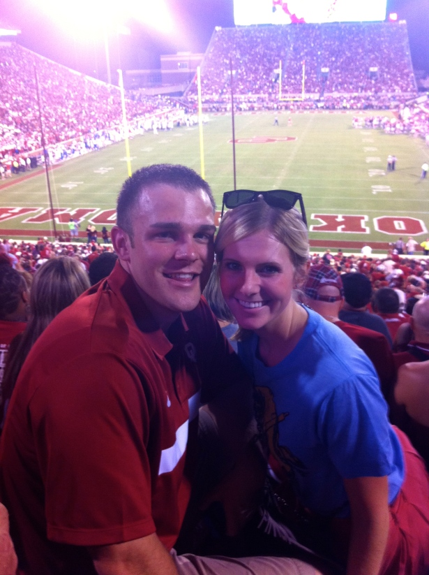 We love our Sooners!