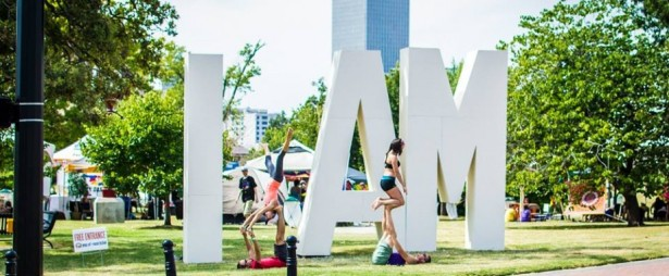 Photo from the I AM Yoga Festival Blog.