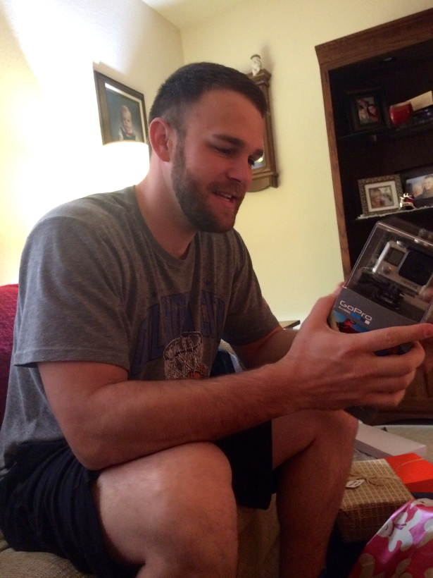 The Carnivore with his new GoPro!